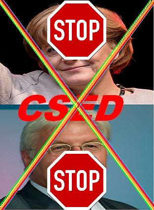 Boykottiert Merkel und Steinmeier und ihre Helfer!